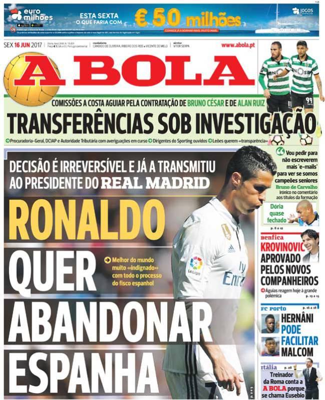 Cristiano Ronaldo A Bola